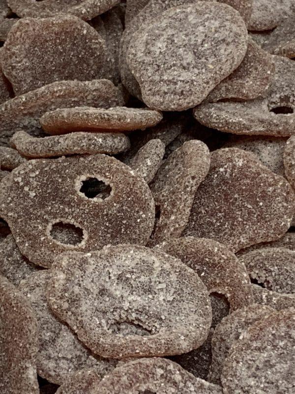 Colapääkallo - kolakarkki - Karkkikuja