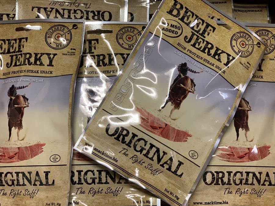 Beef jerky original kuivattua naudanlihaa - Karkkikuja