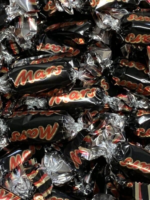 Mars Miniatures - yksittäispakattu marspatukka - Karkkikuja