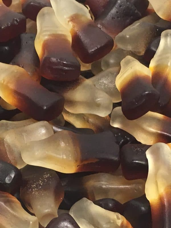 Colapullo - sokeriton pehmeä kolapullo -Karkkikuja