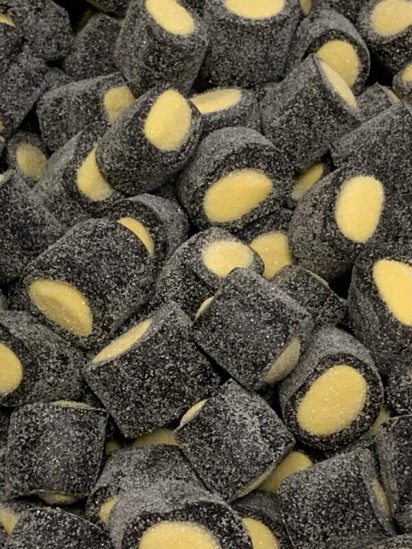 Sitruunapala - sokeroitu täytelaku sitruunatäyte - Karkkikuja