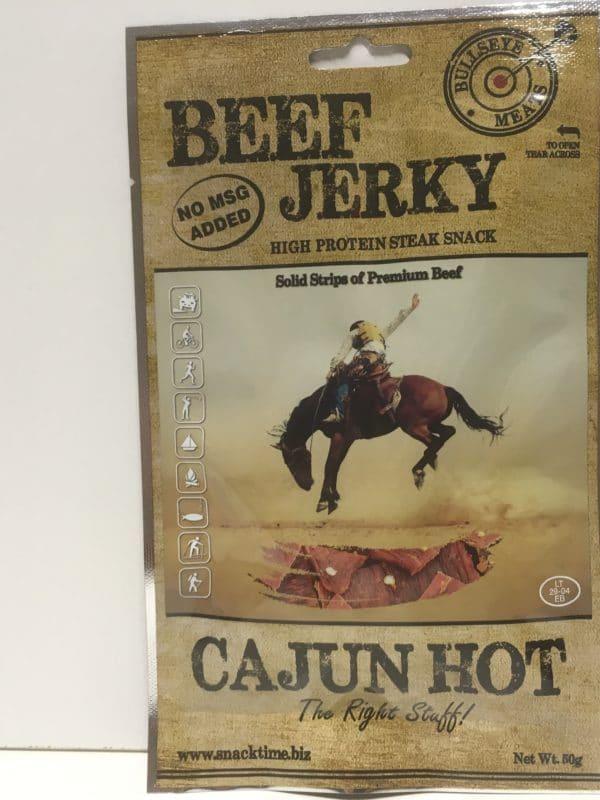 Beef jerky cajun hot kuivaliha - Karkkikuja