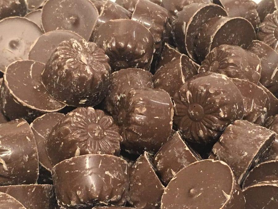 Suklaatoffeerulla - toffee konvehti - Karkkikuja