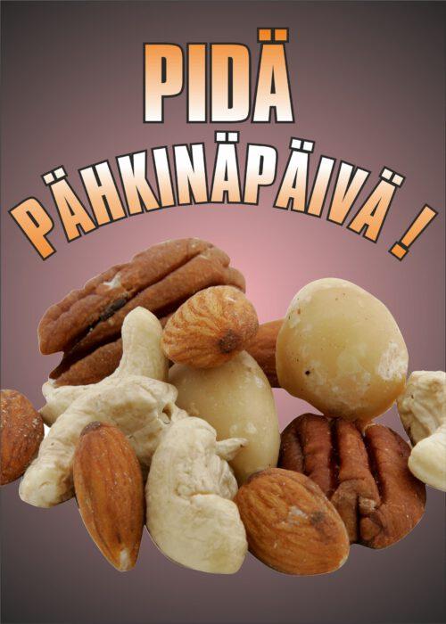 Pidä Pähkinäpäivä !