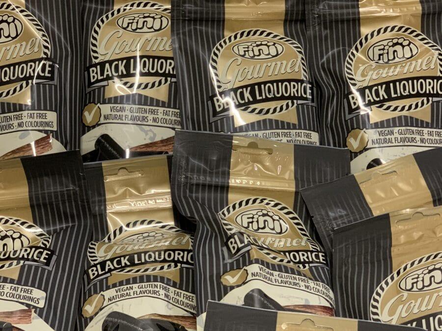 Gourmet Black Lakritsi - Fini vegaaninen gluteeniton lakritsi - Karkkikuja