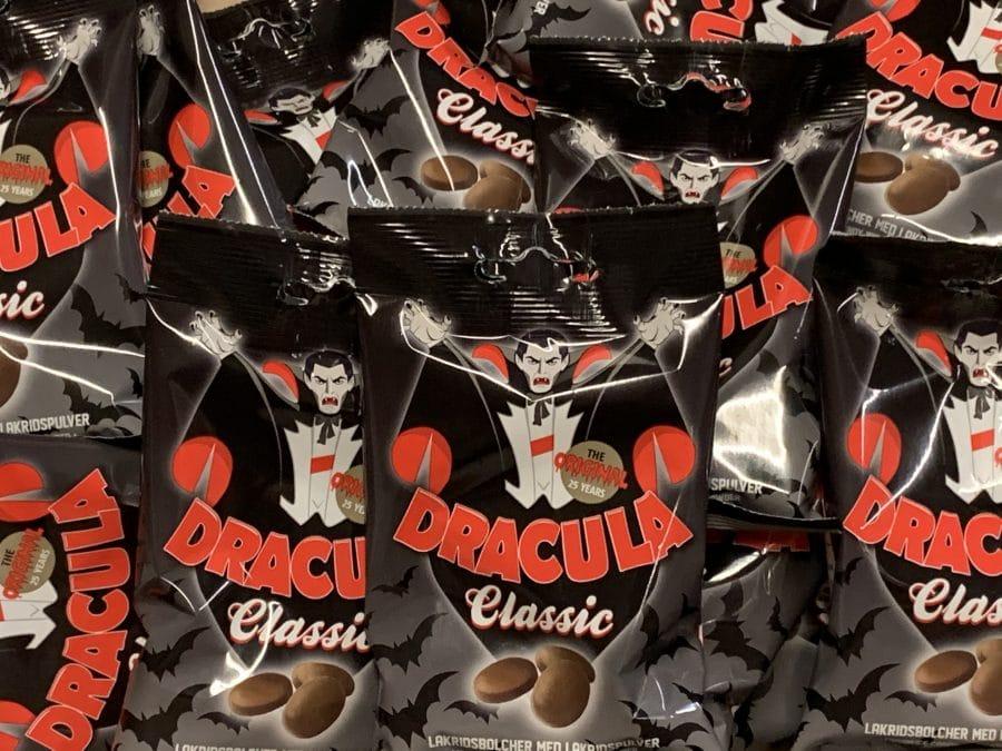 Dracula Classic - Drakula salmiakki original - Karkkikuja