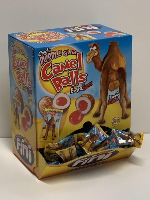 Fini Camel Balls Purkka - yksittäispakattu gluteeniton maustettu purukumi - Karkkikuja