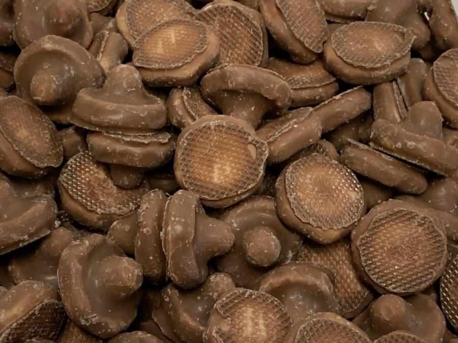 Suklaasieni - suklaa vaahtokarkki irtokarkki - Karkkikuja