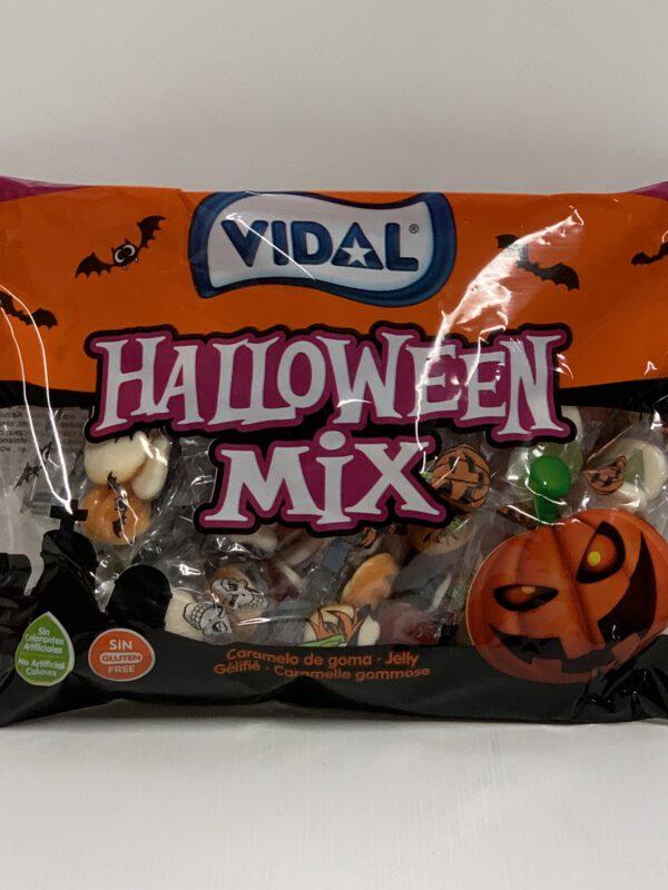 Vidal Halloween Mix - iso halloween sekoitus hedelmä salmiakki -Karkkikuja